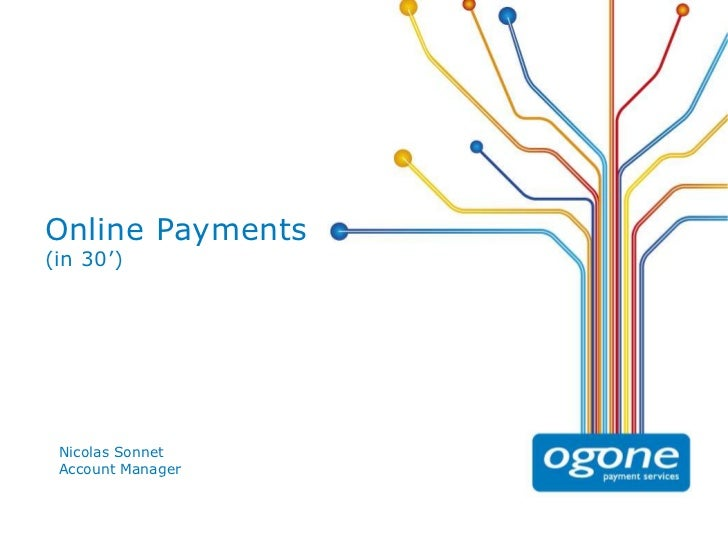 Online Payments(in 30') Nicolas Sonnet Account Manager