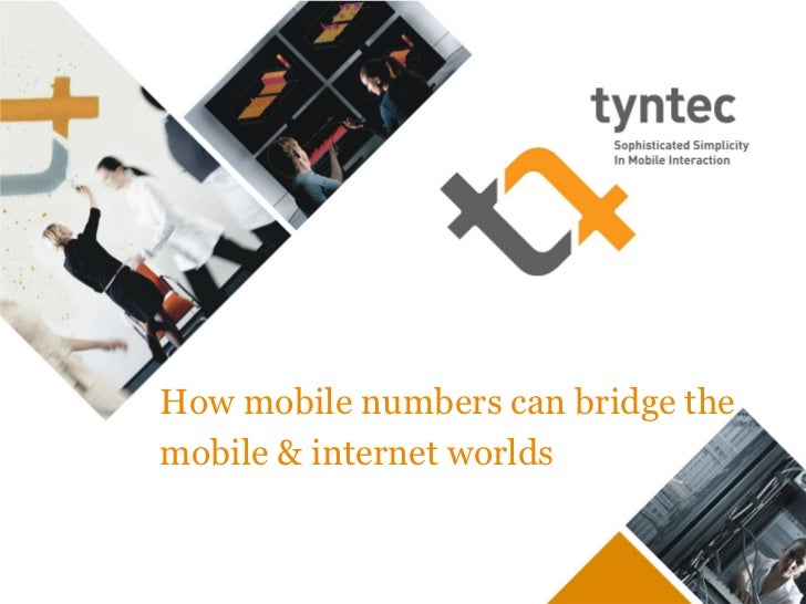 How mobile numbers can bridge themobile & internet worlds