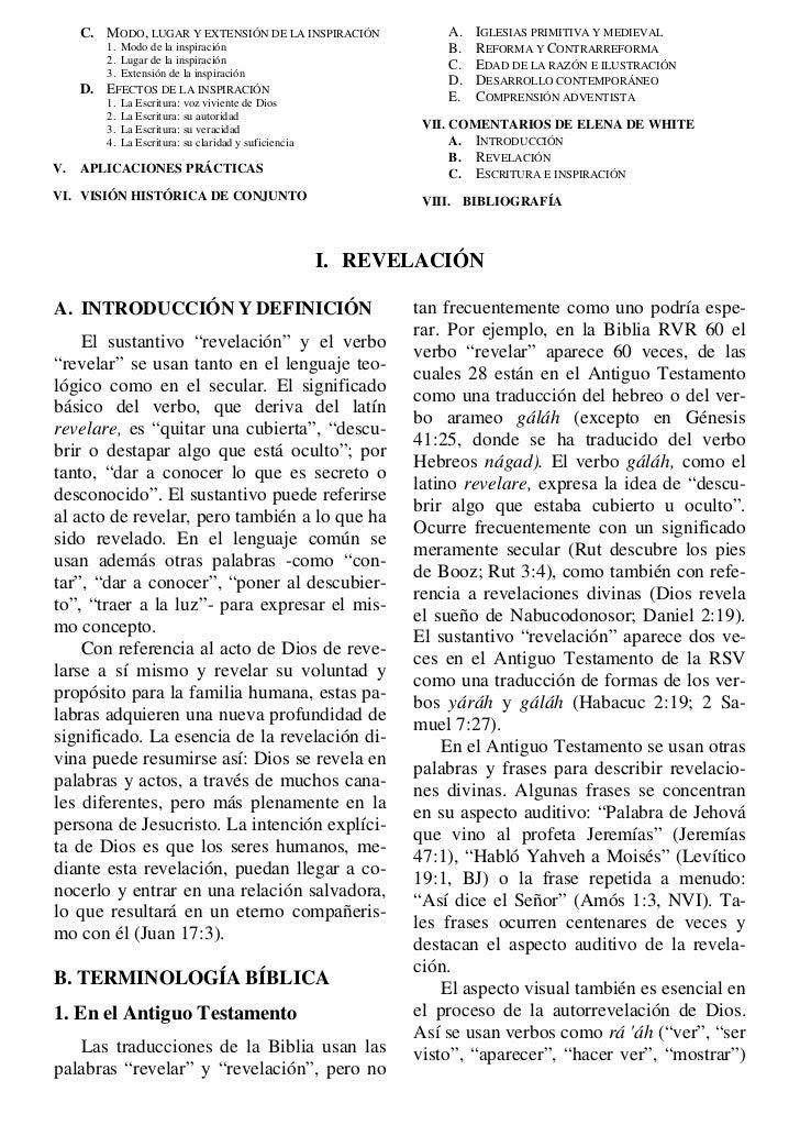 Tratado de teologia adventista revelacion for Significado de la palabra contemporaneo