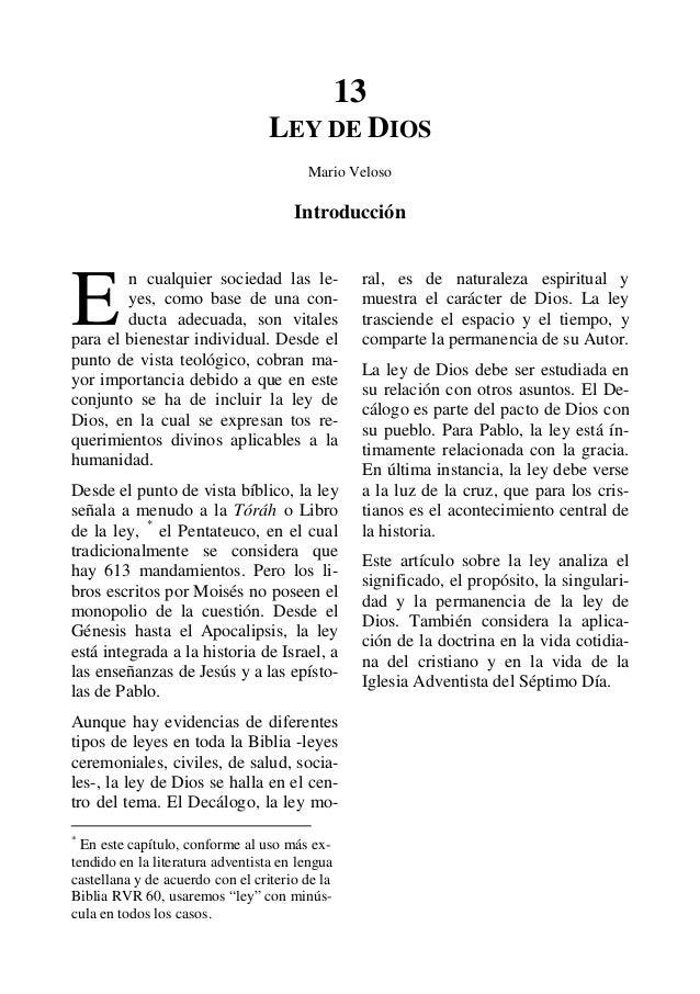 13                                 LEY DE DIOS                                        Mario Veloso                        ...