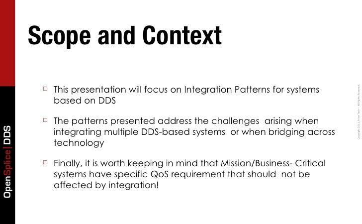Integration Patterns for Mission Critical Systems Slide 3