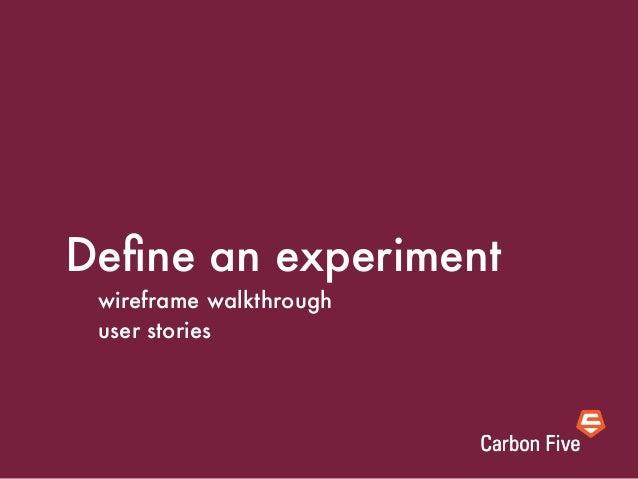 demo: wirefame walkthrough