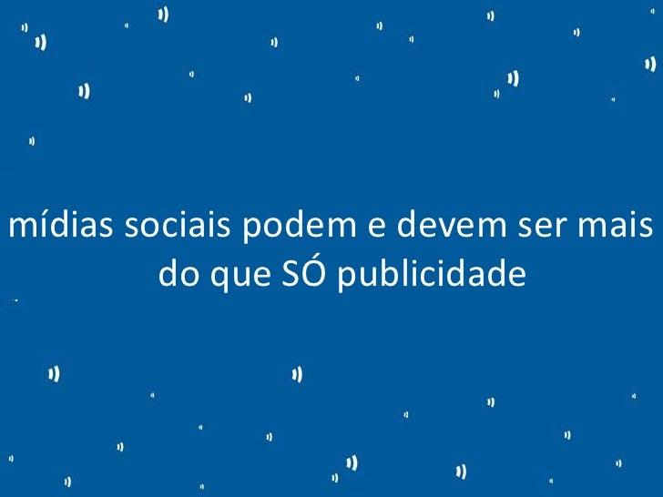 Metodologia para monitoramento e métricas em redes sociais Slide 2