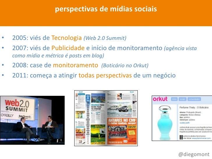 Metodologia para monitoramento e métricas em redes sociais Slide 3