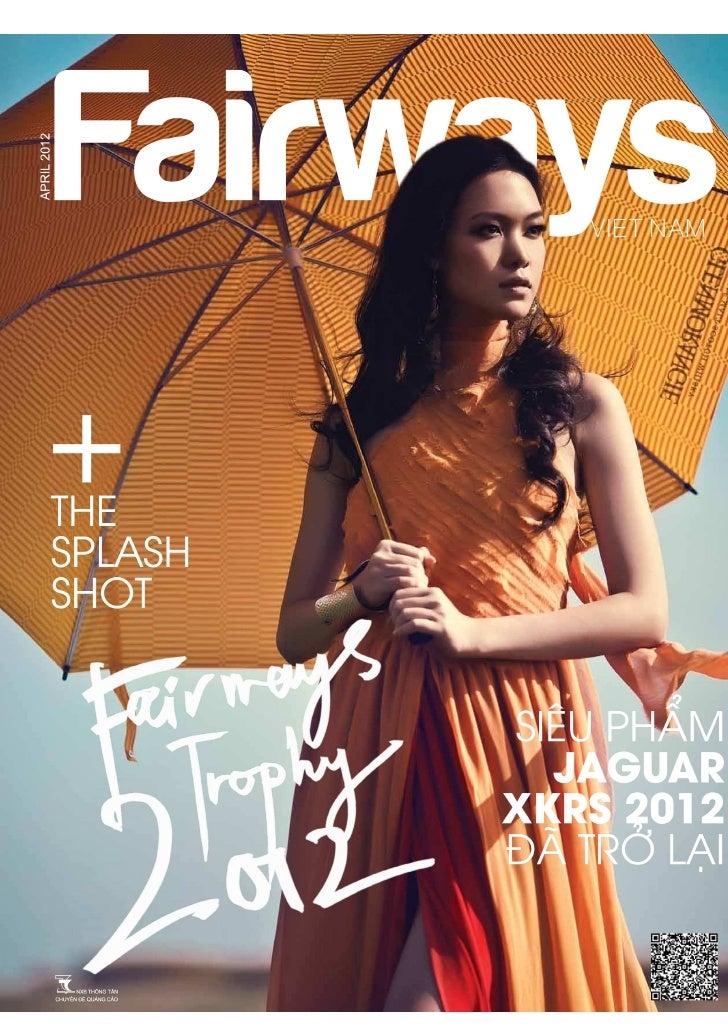 Press Club Hanoi's 15 Anniversary featured in Fairways Magazine Apr 2012