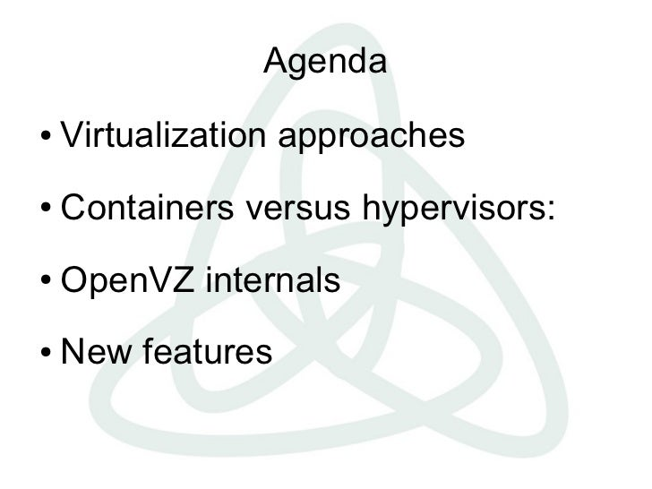 OpenVZ Linux Containers
