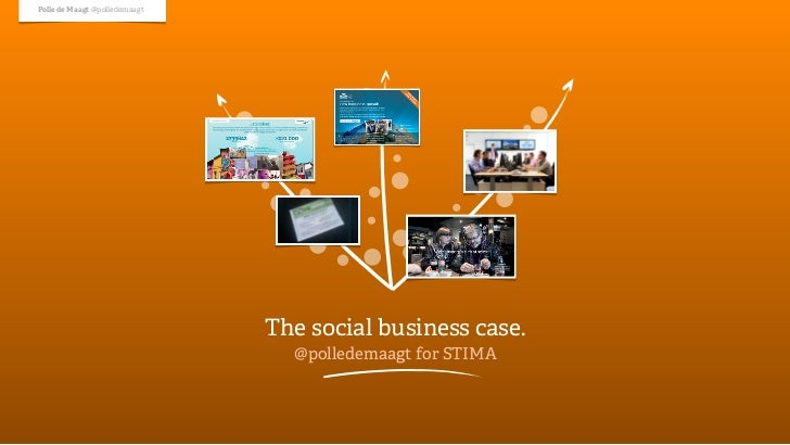 Polle de Maagt @polledemaagt                               The social business case.                                 @poll...