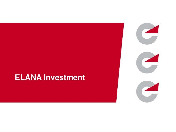 ЕLANA Investment    www.elana.net