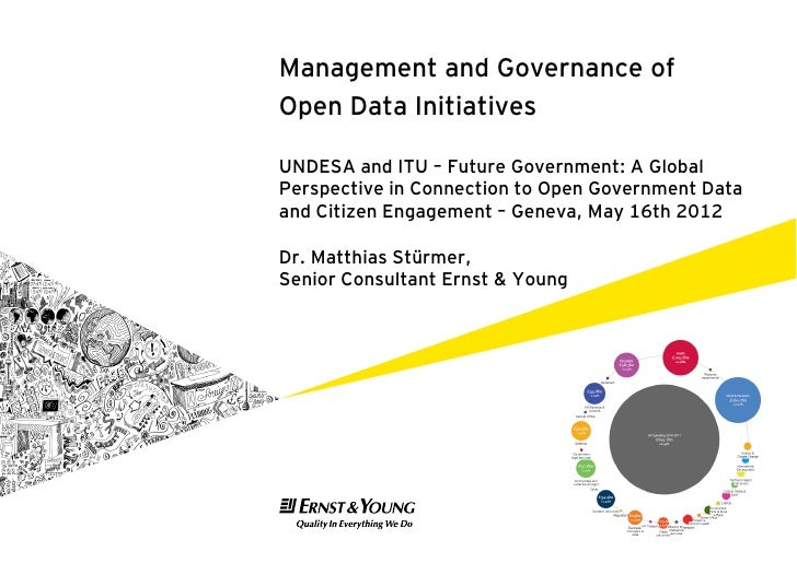 Management and Governance ofOpen Data InitiativesUNDESA and ITU – Future Government: A GlobalPerspective in Connection to ...