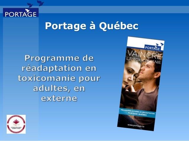 Portage à Québec