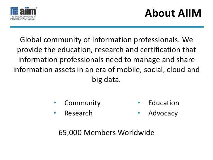 A Brave New World for Information Management Slide 3