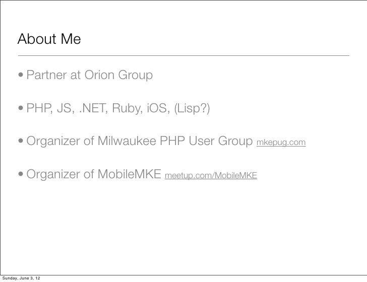 WordCamp Milwaukee 2012 - Contributing to Open Source Slide 2