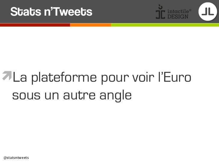 Stats n'TweetsLa plateforme pour voir l'Euro    sous un autre angle@statsntweets