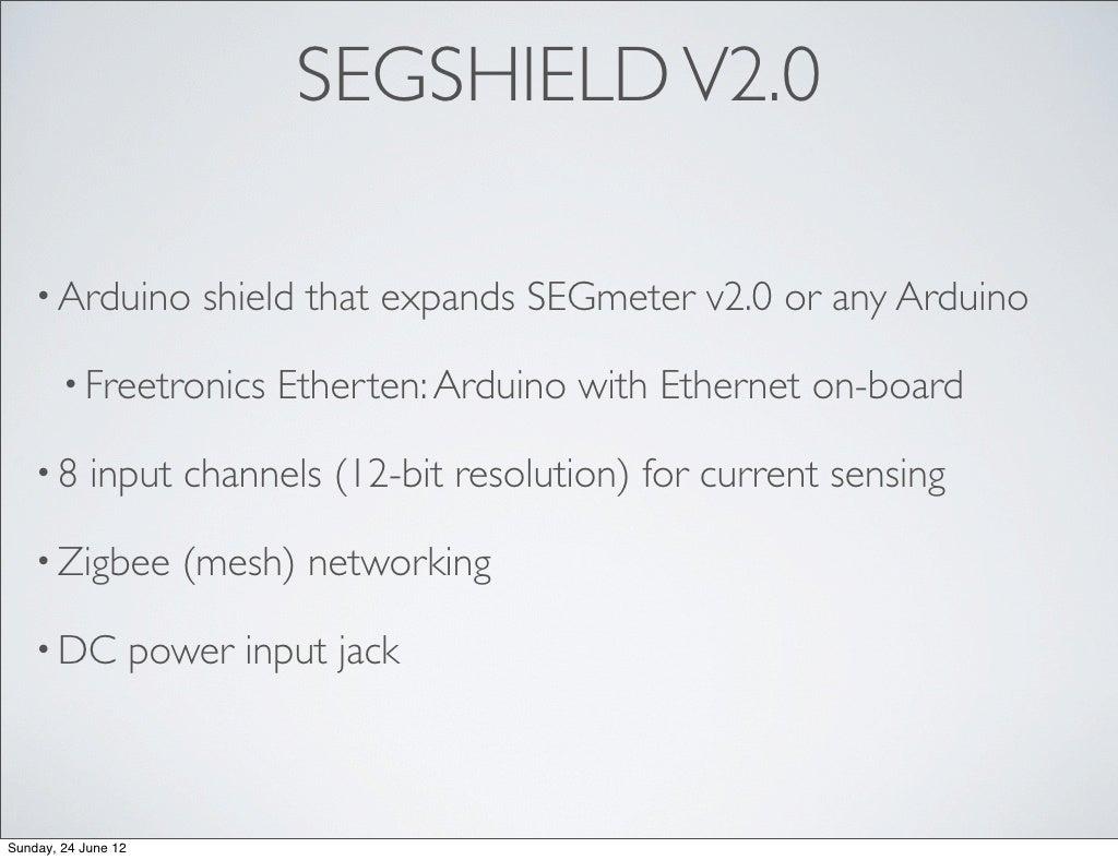 Segshield V20 Arduino Shield Power Over Ethernet For Freetronics