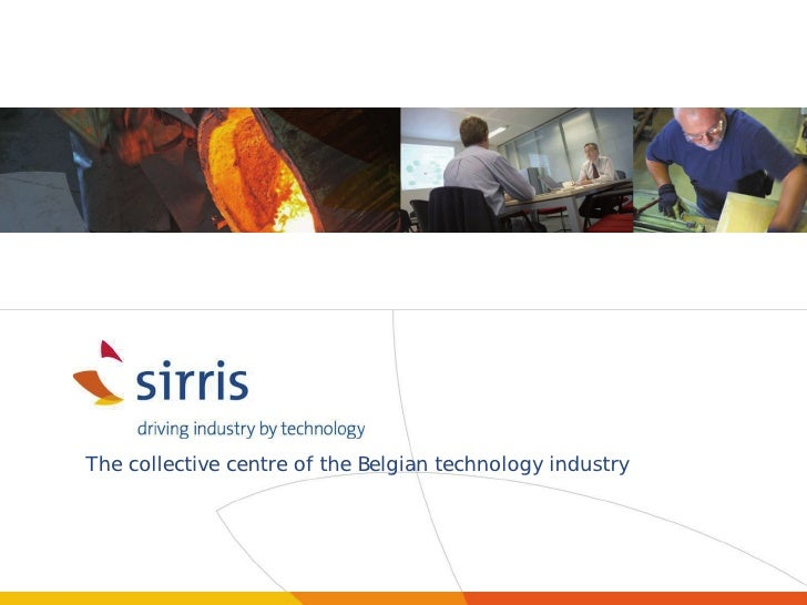 The collective centre of the Belgian technology industry