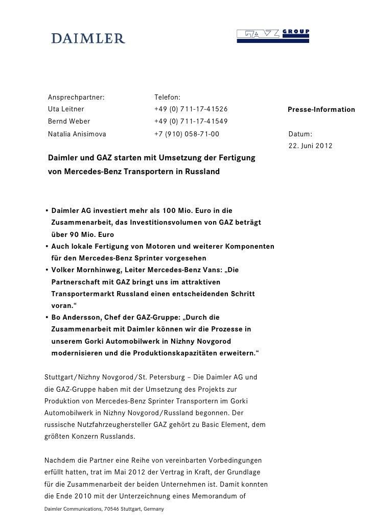 Ansprechpartner:                           Telefon: Uta Leitner                                +49 (0) 711-17-41526       ...