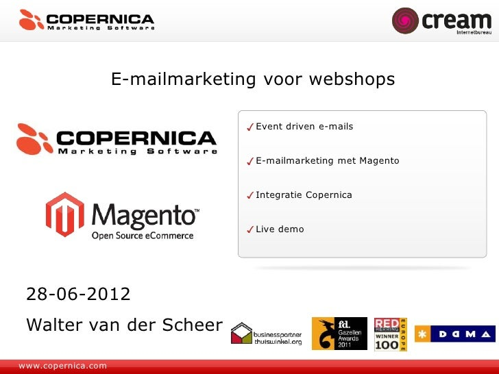 E-mailmarketing voor webshops                                  Event driven e-mails                                  E-mai...