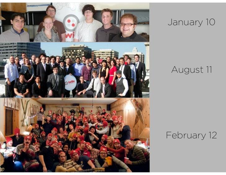 Scaling Company Values - Twilio - TechWeek 2012 Slide 2