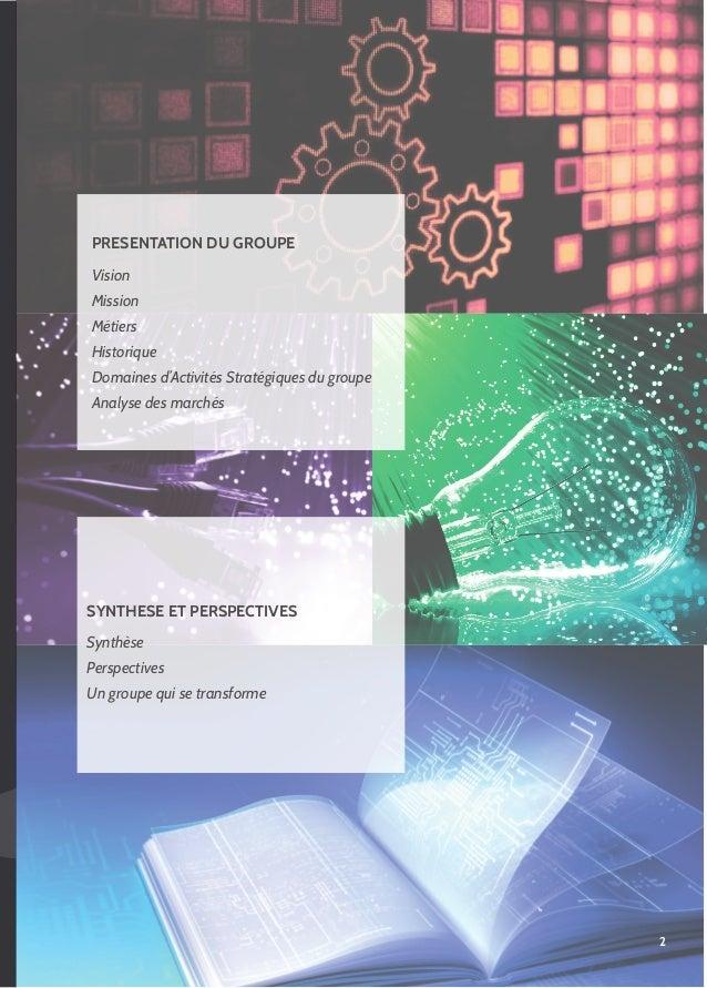 Rapport d'activité Groupe Visiativ 2011 Slide 3