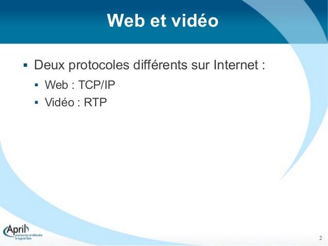 Des vidéos libres et accessibles sur le Web, un pari impossible ? - RMLL 2012 Slide 2