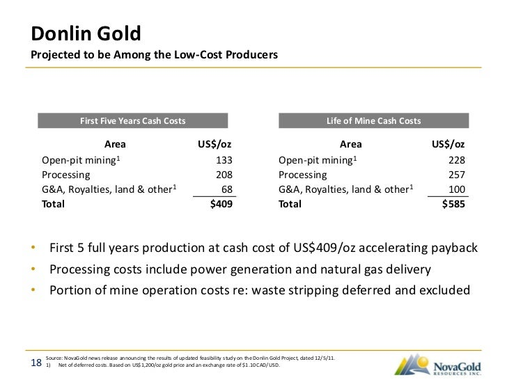 Donlin Gold Analyst Tour