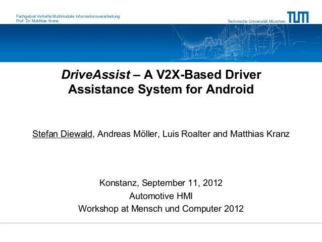 Fachgebiet Verteilte Multimodale InformationsverarbeitungProf. Dr. Matthias Kranz                                         ...