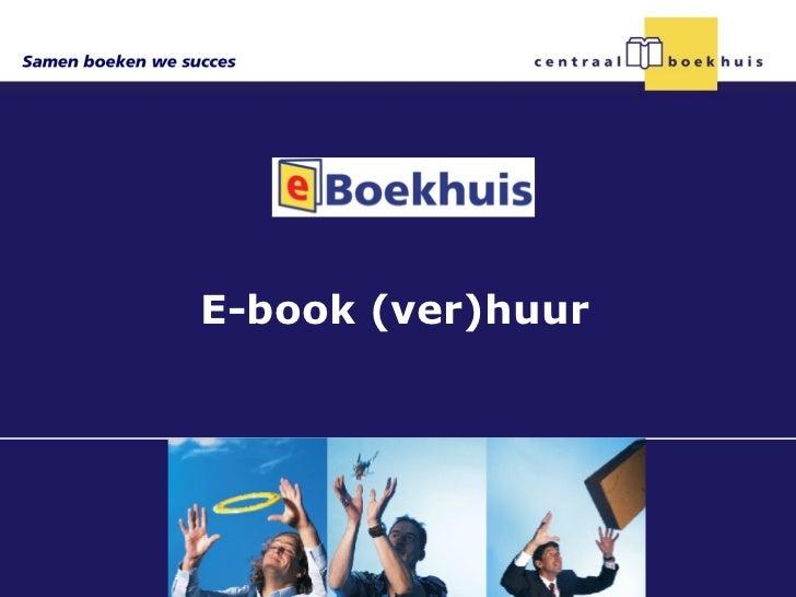 E-book (ver)huur