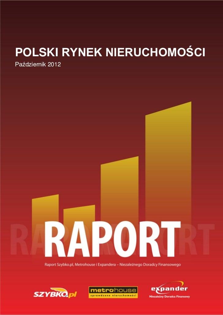 prze-POLSKI RYNEK NIERUCHOMOŚCIPaździernik 2012