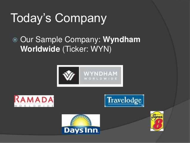 Wyndham Worldwide Corp in Travel