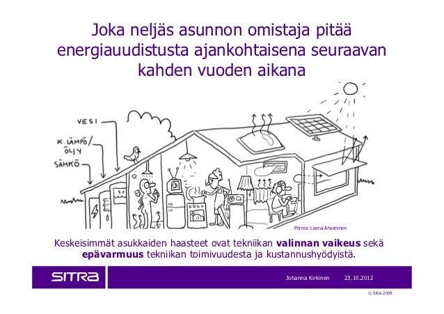 Joka neljäs asunnon omistaja pitääenergiauudistusta ajankohtaisena seuraavan          kahden vuoden aikana                ...