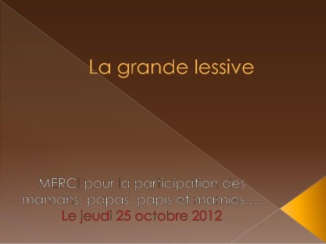2012.10.25. grande lessive