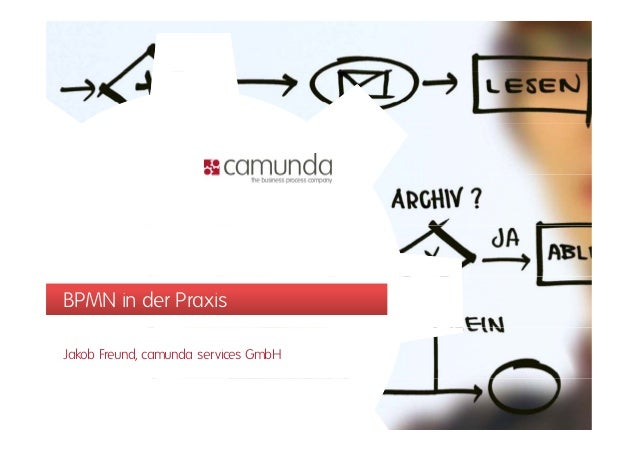 BPMN in der PraxisJakob Freund, camunda services GmbH