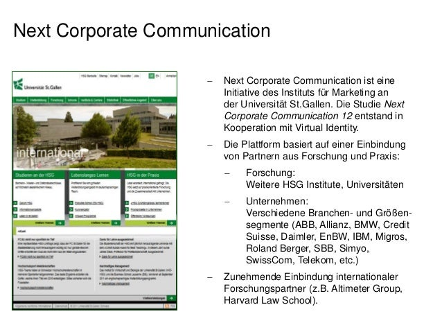 Studie: Next Corporate Communication 12