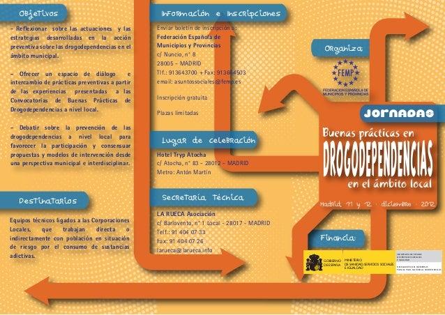 Objetivos                                     Información e Inscripciones- Reflexionar sobre las actuaciones y las       E...