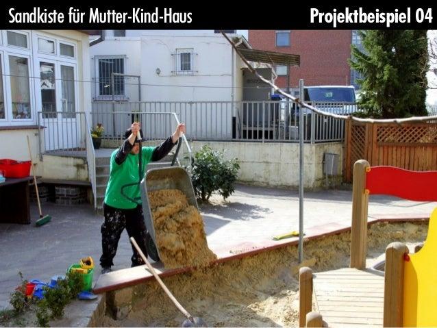Sandkiste für Mutter-Kind-Haus   Projektbeispiel 04