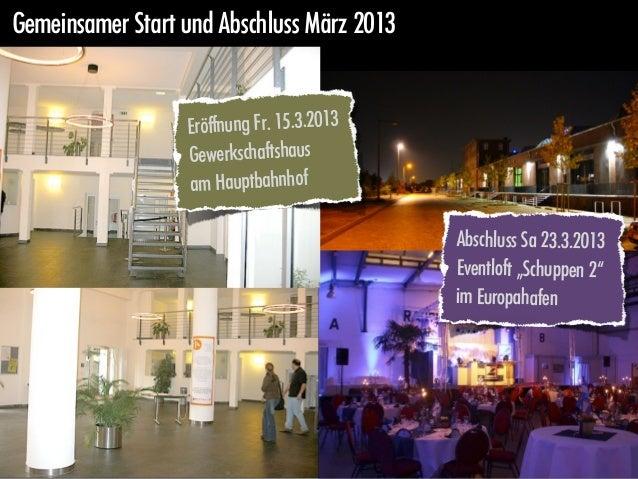 Stadtweite Aktionswoche // Fr 15. - Sa 23. März 2013                 Mitmach-Möglichkeiten                     Kontakt auf...