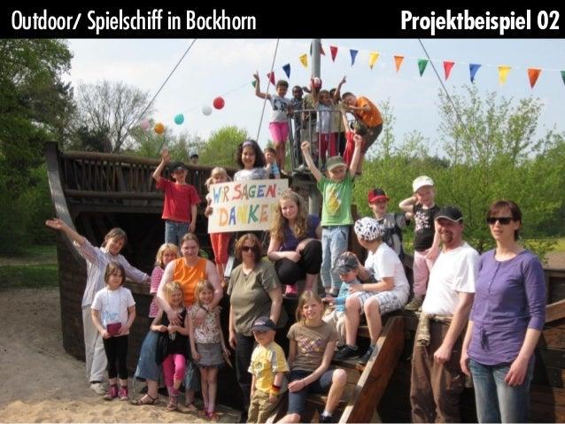 Outdoor/ Spielschiff in Bockhorn   Projektbeispiel 02