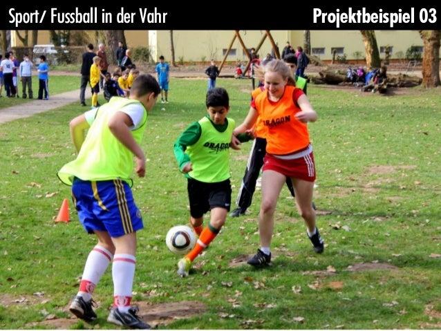 Sport/ Fussball in der Vahr   Projektbeispiel 03
