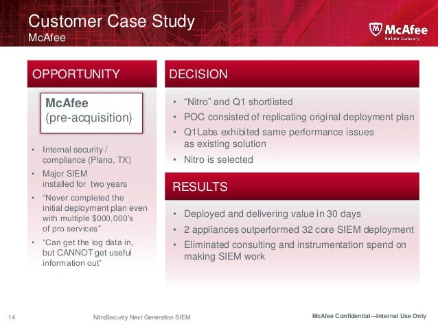 Case Study – McAfee achieves a zero downtime migration of their most mission critical system