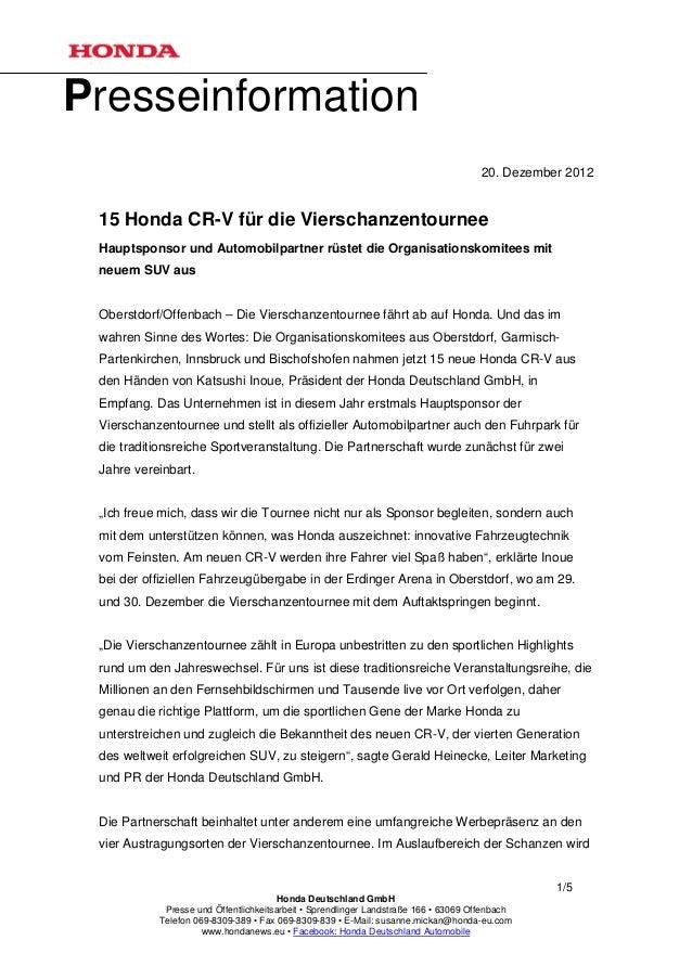 Presseinformation                                                                                    20. Dezember 2012 15 ...