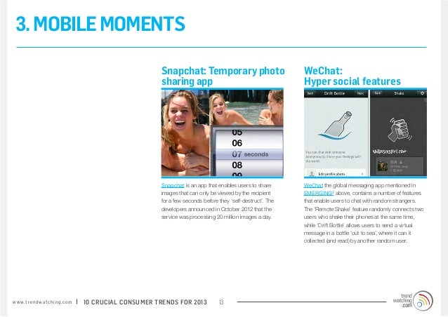 3. MOBILE MOMENTS                                                                 Snapchat: Temporary photo               ...