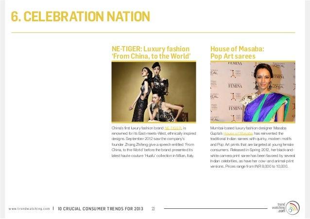 6. CELEBRATION NATION                                                                 NE-TIGER: Luxury fashion            ...