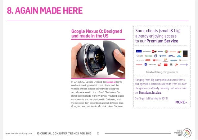 8. AGAIN MADE HERE                                                                 Google Nexus Q: Designed               ...