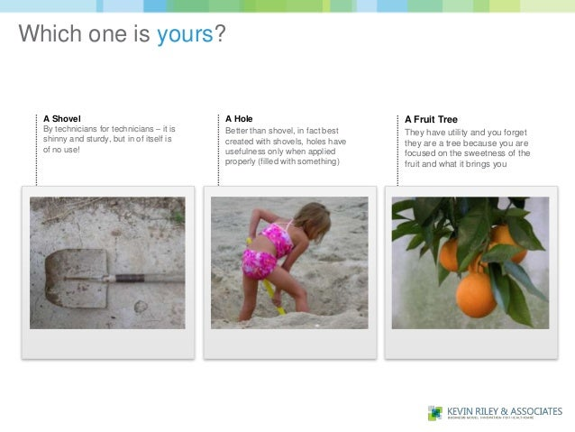 Which one is yours?  A Shovel                                 A Hole                             A Fruit Tree  By technici...