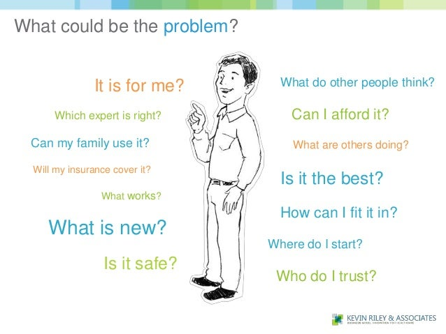 What could be the problem?               It is for me?      What do other people think?      Which expert is right?       ...