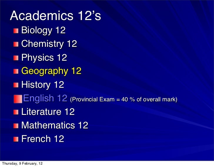 past physics 12 provincial exams
