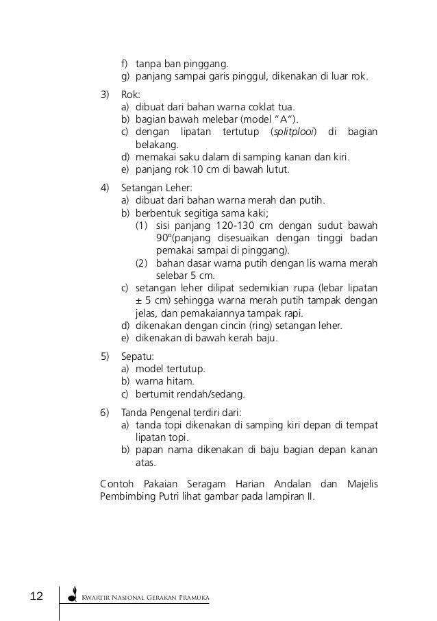 2012 174 Jukran Pakaian Seragam Pramuka