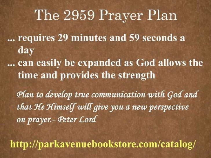 Developing Your Prayer Life The Importance of Prayer's                  Promises