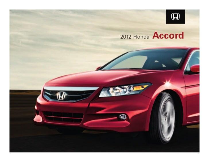 2012 honda accord coupe brochure in tampa florida dealer for Honda dealership tampa