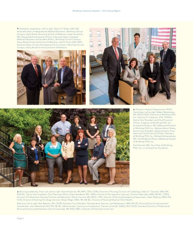 Winthrop 2012 Annual Report Designed By Curran Connors